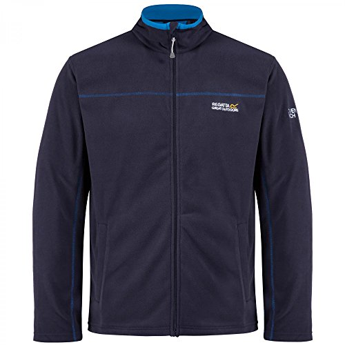 Regatta Fairview Herren-Fleecejacke Navy/Oxford Blue