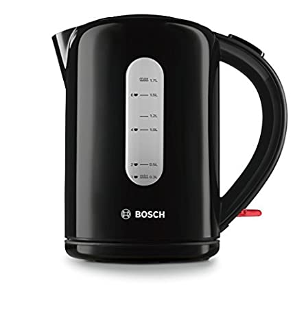 Bosch TWK76033GB Village Collection Kettle, 1.7 L - Black