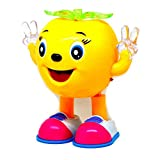 #4: Musical Cartoon Dancing Apple with Colorful Lights Gift Toy for Kids (Color May Vary)