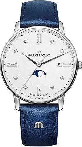 Maurice Lacroix Eliros Moonphase Ladies Quartz Watch, 35mm, EL1096-SS001-150-1