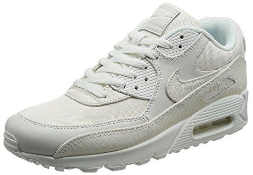 Nike Air Max 90 Premium 700155 101 Herren Sneakers/Freizeitschuhe/Low-Top Sneakers Weiß (14, - Air Herren Max Premium Nike 90
