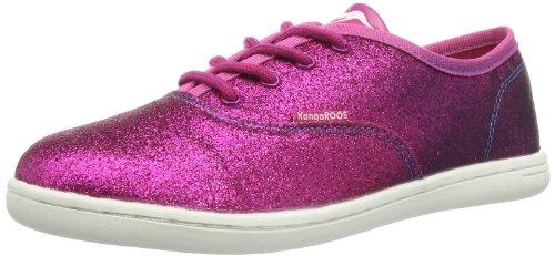 KangaROOS Alencia, basket mixte enfant Rose - Pink (magenta 690)
