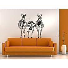 wanddeko zebra