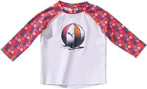 PUMA Mini Sun Protect Unisex Babies' T-Shirt white-cabaret Size:92