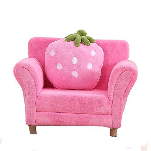Divano Per Bambini.Sofas Chairs Divano Per Bambini Poltrona Morbida Fragola Soggiorno Mobili Sgabello Per Divani Per Bambini Colore Rosa