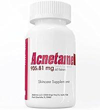 Addrena Acnetame 935.81 mg Suplemento de Vitaminas para el Acné, 60 Pastillas Naturales