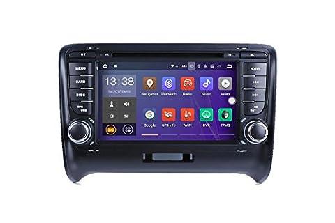 Sans Marque/Generic Android 2DIN 17,8cm lecteur DVD de voiture pour Audi TT MK22006–2012