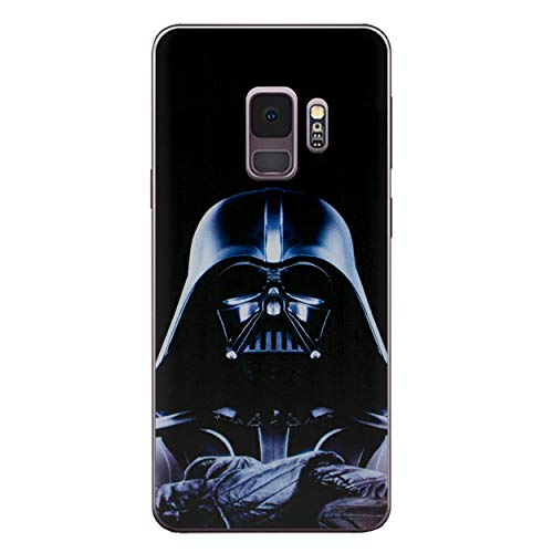 I-CHOOSE LIMITED Star Wars Telefon Hülle/Case für Samsung Galaxy S9 (G960) mit Bildschirmschutz Gel/TPU / Darth Vader