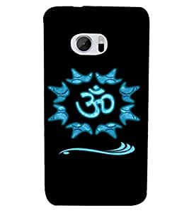 PRINTSHOPPII OM LORD SHIVA Back Case Cover for HTC One M10