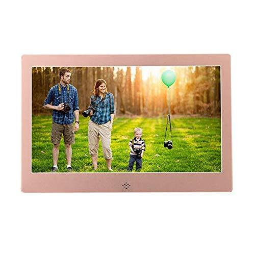JIAO DE Elektronischer Foto-Rahmen 10 Zoll-Digital-Werbungs-Maschinen-LED Audio und Video-Player können Tischplatten-Wand-Berg Sein (Color : C) -