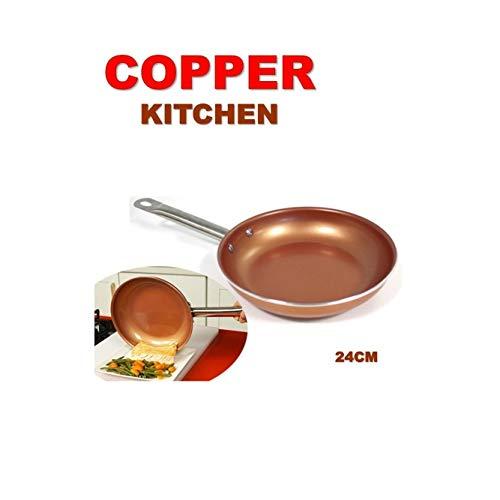 Sartén Copper Kitchen – La Revolucionaria Sartén de Cobre, no se raya y los alimentos no se pegan a la superficie!