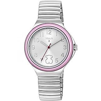 Reloj Tous Easy Rosa Niña Plateado