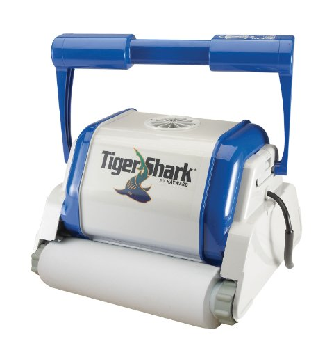 Steinbach Schwimmbadreiniger Tiger Shark, Filterleistung ca. 17 m³/h, vollautomatisch, für Boden und Wände, 061000 - Bodenreiniger Shark