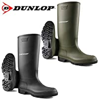 Unisex Wellingtons Boots Ladies Women Mens Wellies Fully Waterproof Snow Rain Muck Outdoor Mud Shoes Welly