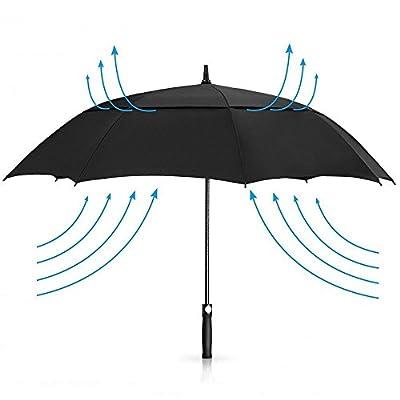 Paraguas de golf resistente