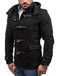 BOLF - Manteau classique à capuche – KAMLIN 4902 - Homme