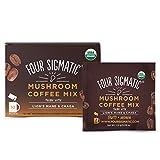 Mushroom Café avec Lion Mane, 10 sacs de poudre - Quatre Sigma Foods