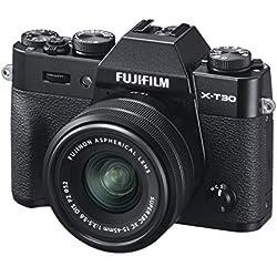 Fujifilm 16619267 Appareil Photo Hybride X-T30 + XC15-45mmPZ Noir