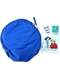 Twist-and-Fold Rain Hat