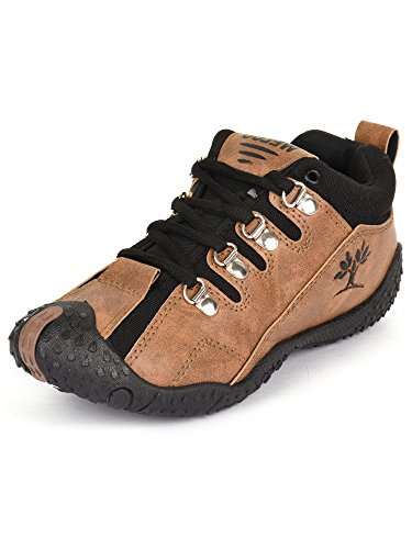 SCATCHITE Brown Men's Sport Shoes (8)