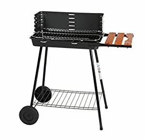 Somagic SO305028 Sicilia Barbecue Acier 52 x 30 cm