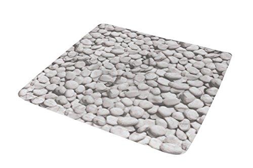 Kleine Wolke 4387189002 Duscheinlage Stepstone, 55 x 55 cm, grau