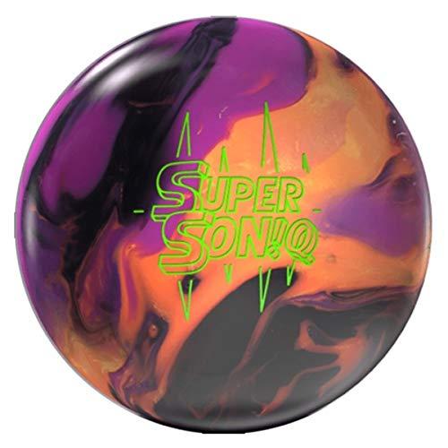 chwarz/Orange/Lila, Hybrid Oberfläche, Reaktiv Bowlingkugel für Einsteiger und Turnierspieler - inklusive 100ml EMAX Ball-Reiniger Größe 12 LBS ()