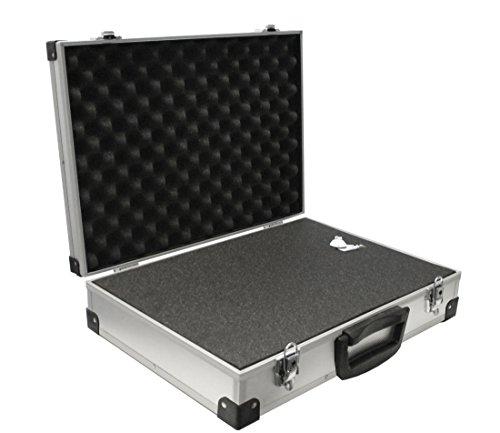 Peaktech valigetta universale in alluminio, misura xxl, dimensioni: 500x 350x 120mm, 1pezzo, codice: p 7270