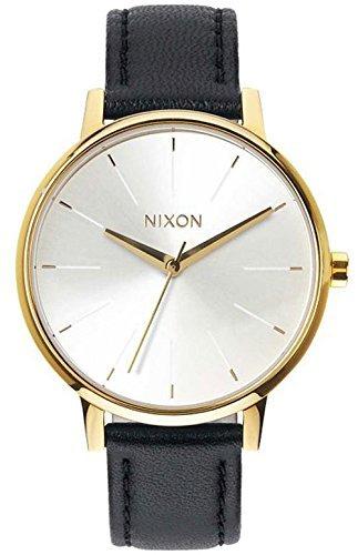 nixon-damen-armbanduhr-kensington-analog-quarz-leder-a1081964-00