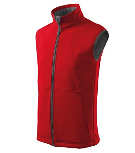 Dress-O-Mat Herren Weste Body Warmer Softshellweste Rot