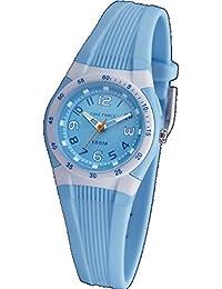Reloj TIME FORCE niño/señora. Sumergible. Iluminator. Correa de caucho azul. TF-3388B03