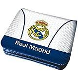 Cartera monedero open de Real Madrid White