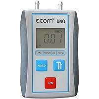 Ecom 102108 - Uno con il sacchetto di protezione - manometro differenziale - regolazione di bruciatori a gas / - 200 hpa - Manometro Differenziale