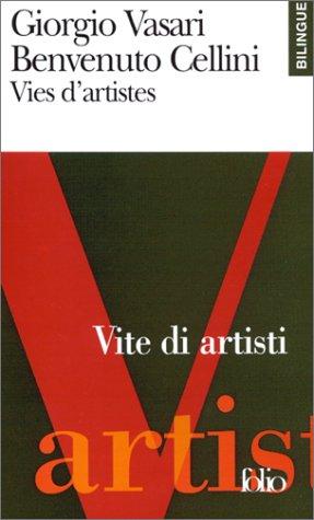 Vies d'artistes (dition bilingue, franais-italien)