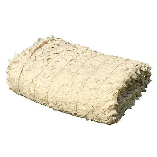 Schatten tuch Chunlan Camouflage Tarnnetz Für Verbergen Wälder Nicht-gerade Weiss Polyester Oxford-Stoff Dschungel Wüste Tarnband Sonnenschutz Sonnenschirmdekoration (Size : 6X8m)