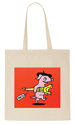 Pig T-Shirt Tote Bag (Off T-shirt Walk)