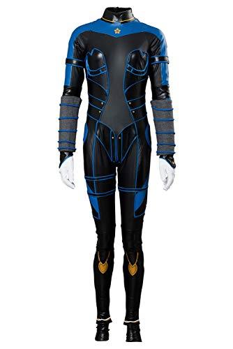 MingoTor Superheldin Kasumi Overall Catsuit Cosplay Kostüm Damen S