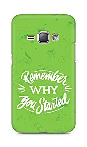 AMEZ remember why you started Back Cover For Samsung Galaxy J1 (2016 EDITION)