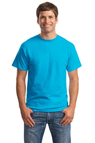 Hanes Big Mens Born to Be Worn 100% Cotton T-Shirt Teal