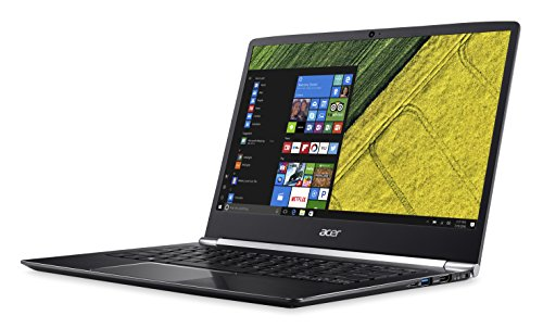 Acer Swift 5  Notebook  Black Intel Core I5-7200U Processor SSD 256 GB grey
