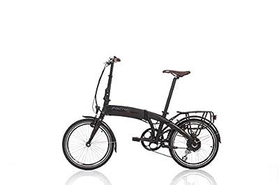 "Fischer E-Bike Faltrad, Schwarz, 20"", Hinterradmotor 36 V/317 Wh, Shimano-Schaltung, rahmenintegrierter Akku"