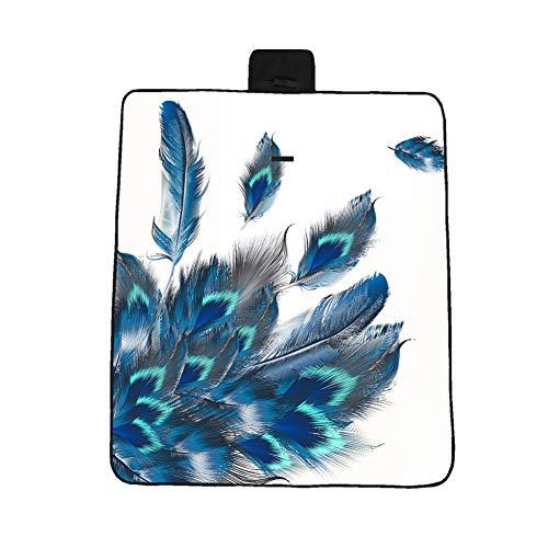 Blumen-teppich-designs (txyang Camping Oxford Stoff wasserdichtes GewebePicknick Blume komfortable Teppich Griff Pad Design)