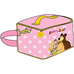 Masha e Orso Beauty Bag Portamerenda/Portatutto 24x16 cm