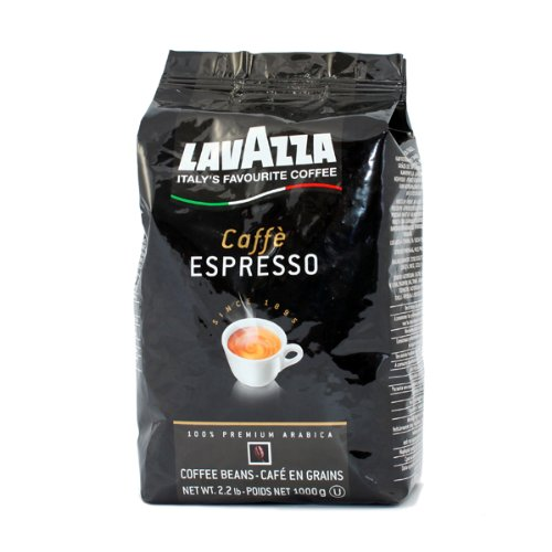 Lavazza Caffe Espresso Kaffee Bohnen 6 kg (6x1kg)