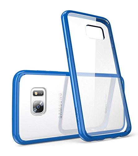 Custodia Samsung Galaxy S7 Edge 2016 Release, i-Blason Cover [Halo Series] Trasparente copertura e paraurti della cassa [antigraffio]