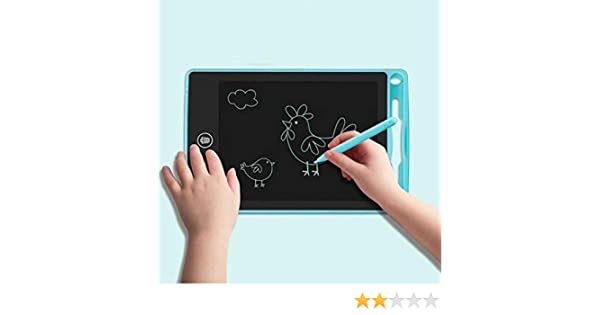 GUIGSI Tavolo da Disegno per Lavagna da Lavagna per Bambini da 4,5 Pollici Tappeti per Bambini