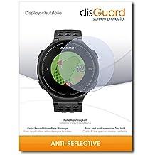 """2 x disGuard® Protector de pantalla Garmin Approach S5 Protectores de pantalla de película """"AntiReflex"""" antideslumbrante"""