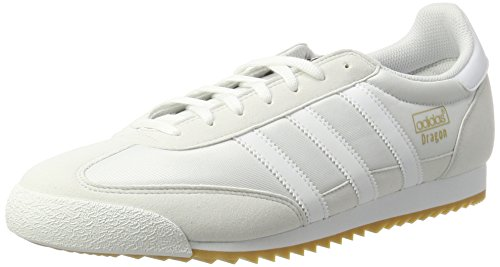 adidas Originals Herren Dragon OG Sneaker, Weiß (White), 39 1/3 EU (Originals Adidas Dragon)