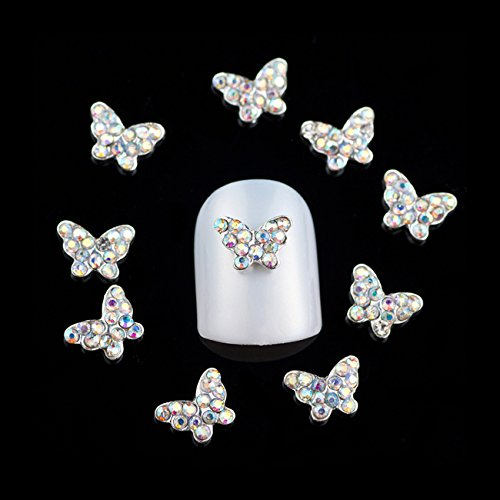 davidsonne-10pcs-3d-bling-alloy-rhinestones-crystal-faux-pearl-crown-bow-tie-nail-art-glitters-diy-d