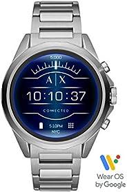 Armani Exchange Drexler Mens Smart Watch, Digital and Stainless Steel - AXT2000